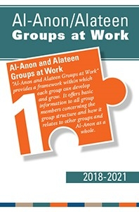 Book cover for Al-Anon Alateen, Groups at Work